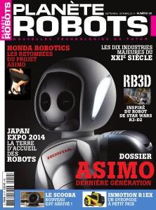 Couverture Planete Robots 29
