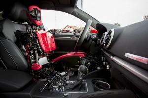 Aria Audi A3 e-tron Cybedroid Conduite