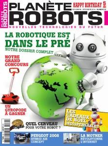Couverture Planète Robots 30