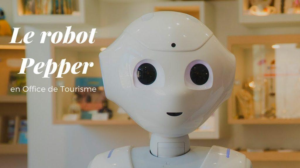 Le robot Pepper en Office de Tourisme