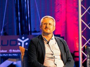 Frédéric Boisdron lors de son intervention au LUDyLAB dans le cadre de l#Exploratoryum